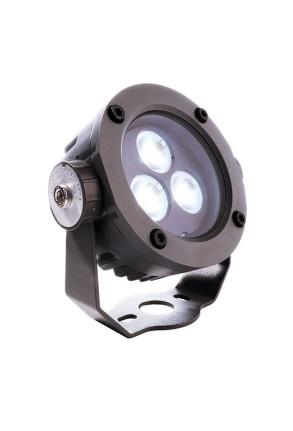 Power Spot 6500 K - Proiector rotund din aluminiu