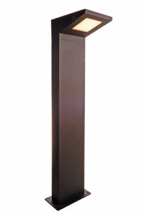 Iretta - Bolard gri rectangular din aluminiu