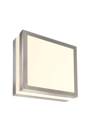 Scuti I - Aplică pătrată minimalistă din inox