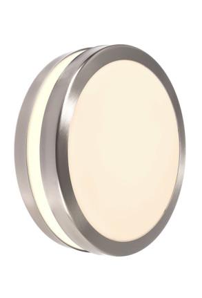 Scuti II - Aplică rotundă minimalistă din inox