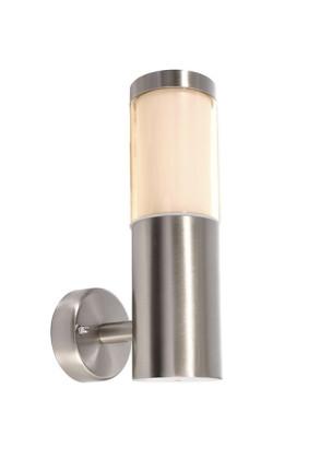 Porrima II - Aplică minimalistă argintie de exterior