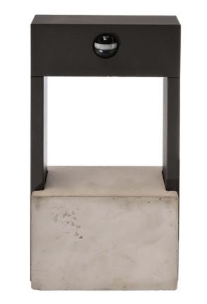 Chertan - Aplică neagră din aluminiu