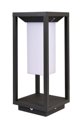 Samas Solar 34 - Lampadar negru cu senzor de mişcare