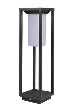 Samas Solar 50 - Lampadar negru cu senzor de mişcare