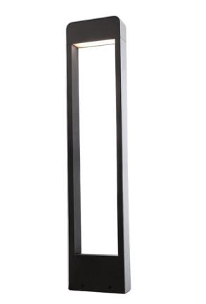 Hydrae 100 - Lampadar de exterior negru rectangular