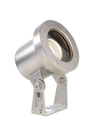 Fiara 10 W - Lampă subacvatică rotundă din oţel inoxidabil
