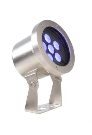 Fiara RGB 21.8 W - Lampă subacvatică rotundă din oţel inoxidabil