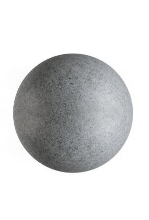 Kugelleuchte II 45 - Lampadar rotund pentru exterior din polietilenă
