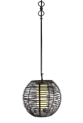 Velorum - Pendul negru din plastic în stil minimalist