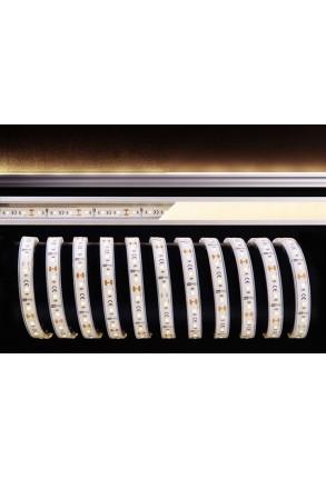 Bandă LED 2835 Alb cald 12 V Silicon