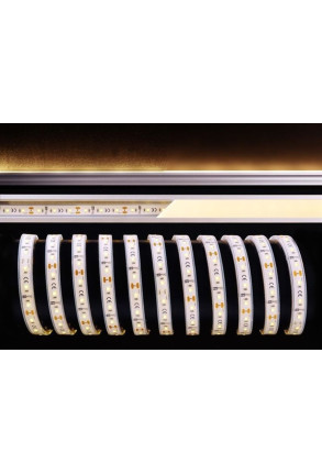 Bandă LED 3528 40 W 2700K 12 V Silicon