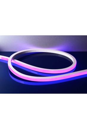 Bandă LED D Flex Line vedere superioară RGBW