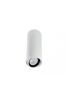 Luk Tube 350 6.2 W - Spot aplicat cilindric ajustabil din aluminiu