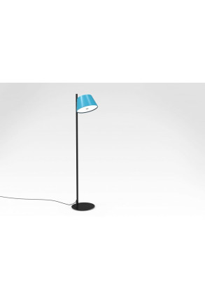 Tam Tam P II - Lampă de podea cu abajur albastru