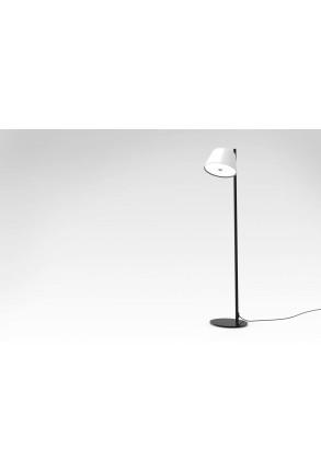 Tam Tam P II - Lampă de podea cu abajur alb