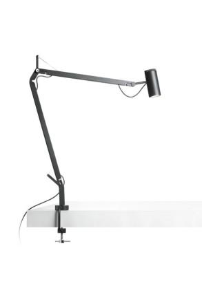 Polo II - Lampă de birou neagră ajustabilă