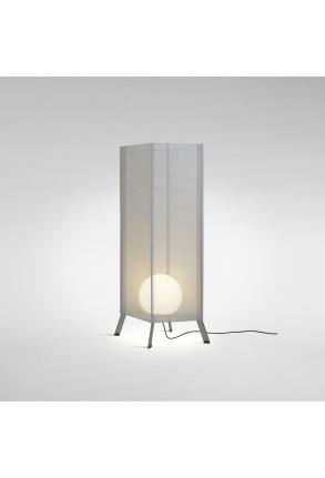 LaFlaca 120 - Lampadar gri din textil