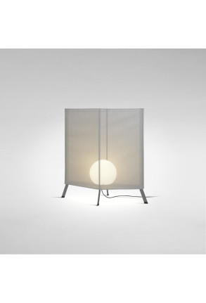 LaFlaca 90 - Lampadar gri din textil