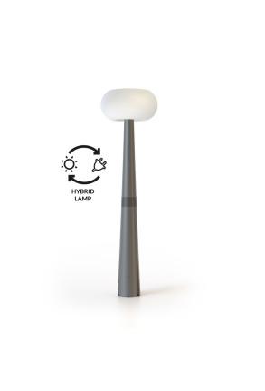 Pepita Farola Hybrid - Lampadar cu încărcare solară & cablu