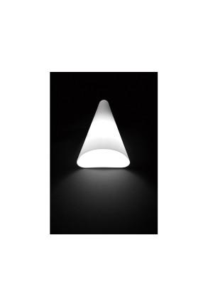 Nan LED - Aplică albă conică