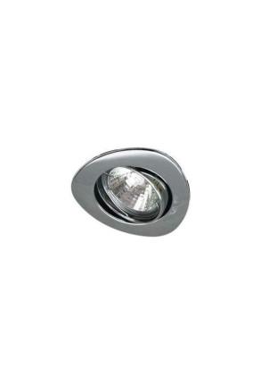 UO-13 I - Spot încastrat argintiu ajustabil