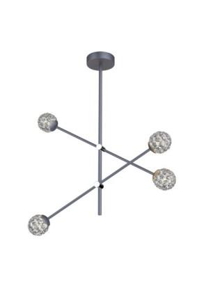 Paksos II - Lustră cu 4 globuri luminoase