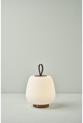 Misko Camp - Lampă portabilă maro cu finisaj din lemn
