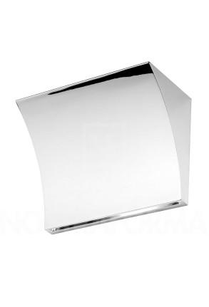 Pochette - Aplică argintie cu lumină indirectă