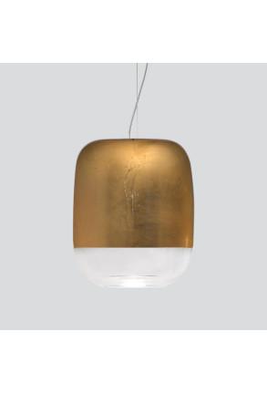 Gong Led S1 II - Pendul auriu din sticlă