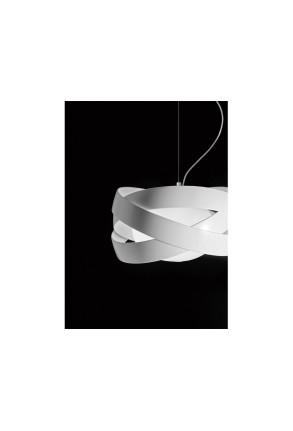 Siso Alb 60 - Lampă suspendată de birou
