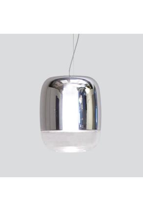 Gong Led S1 - Pendul cu abajur lucios din sticlă