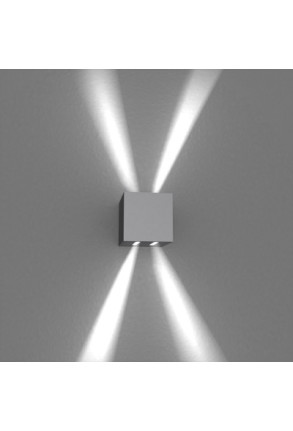 Spot Mini Beam Four Way II  - Aplică gri cubică