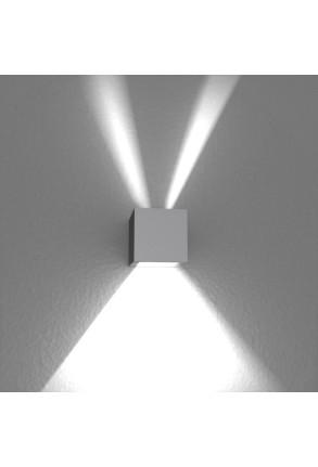 Spot Mini Beam Three Way II - Aplică gri cubică