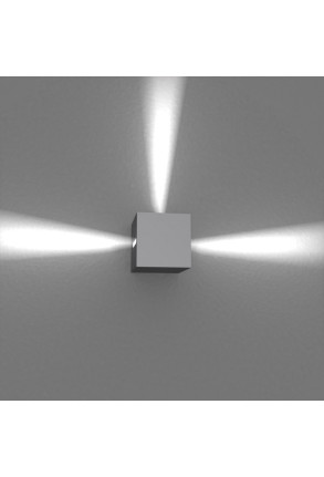 Spot Mini Beam Three Way I - Aplică gri cubică