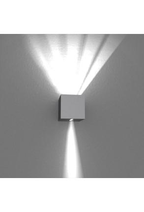 Spot Mini Beam Two Way IV - Aplică gri cubică