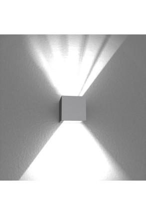 Spot Mini Beam Two Way III - Aplică gri cubică