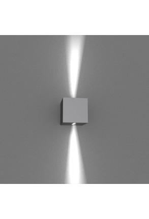 Spot Mini Beam Two Way I - Aplică gri cubică