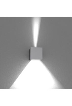 Spot Mini Beam Two Way II - Aplică gri cubică