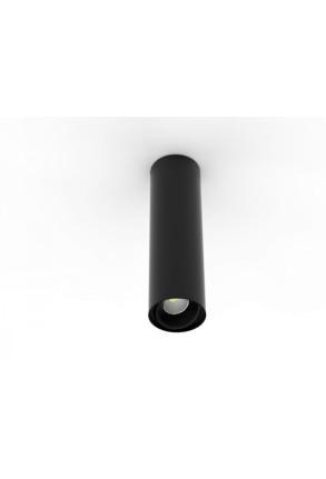 Tube 9.3 W 190 - Spot aplicat ajustabil cilindric negru sau alb