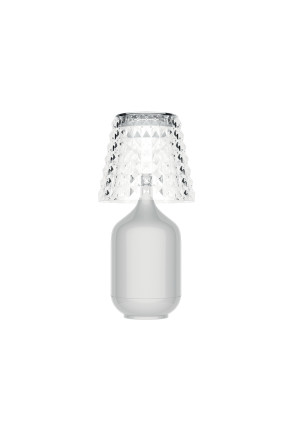 Valentina - Lampă portabilă albă sau neagră