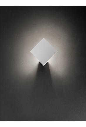 Puzzle Single Square 3000 K - Plafonieră Alb