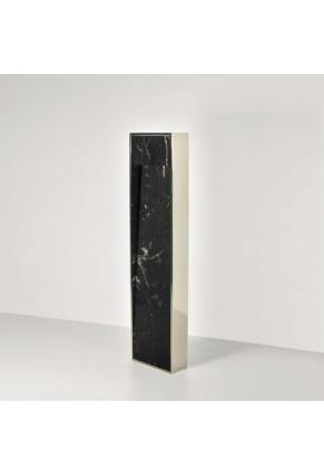 Zen - Lampadar negru din marmură