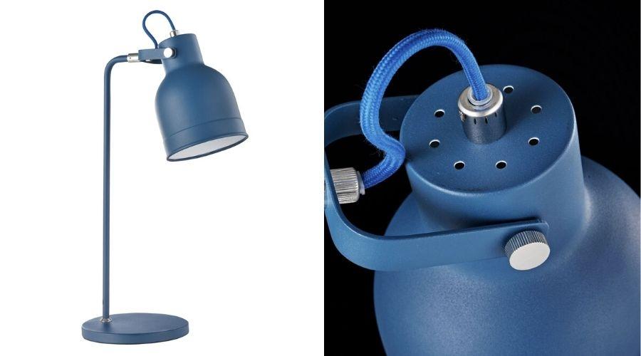 Lampa Pixar albastră